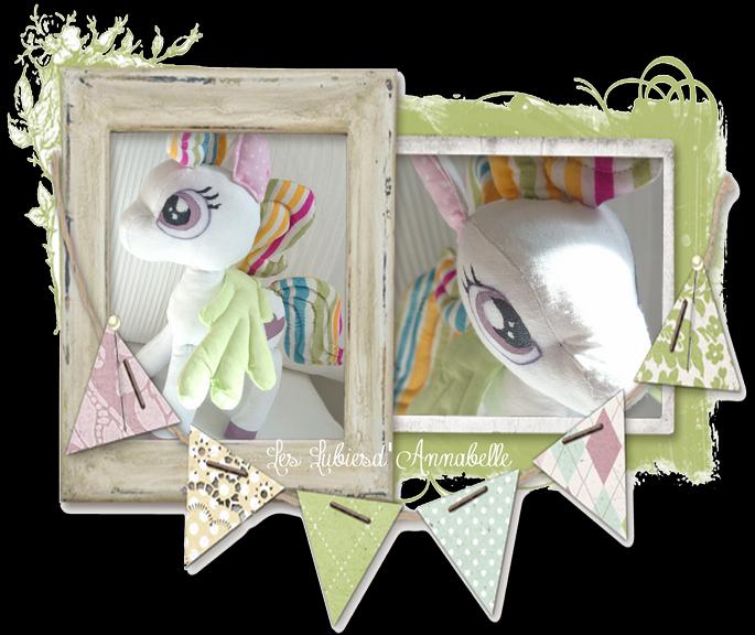 Peluche littleponey fille ailes