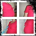 Et un haut de grossesse, il était temps, bébé arrive dans 1 mois et demi ...