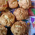 Muffins à la ricotta (dans la pâte)