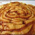 Gâteau aux pommes (ou poires) et caramel au beurre salé