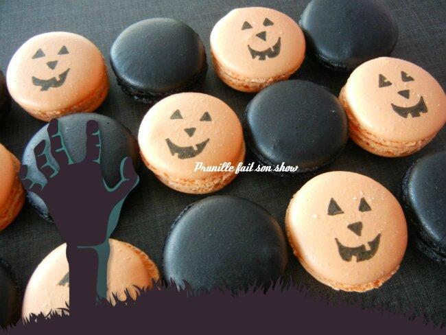 macarons halloween prunillefee