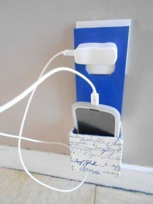 Boite porte t l phone et chargeur les passions de vinsareva for Porte telephone