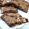 Brownie brittle, le brownie qui se prend pour un biscuit