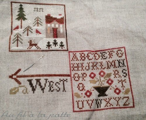 2014 04 02 3eme objectif Weathervane de little house needleworks