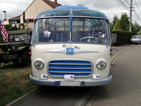 Autocar SETRA S6 BW Festival des Voitures Anciennes de Hambach 2009 1