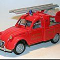 007 Pompiers de Henflingen Pickup Norev 1
