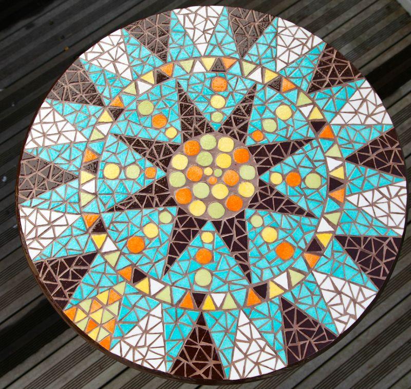 Ensemble Table Et Chaises De Jardin En Mosa Que Turquoise Anouk Mosaic Mosa Que D 39 Art