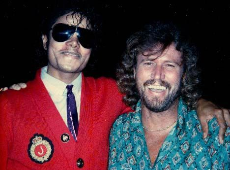 barry gibb mj