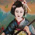 Geisha au shamishem