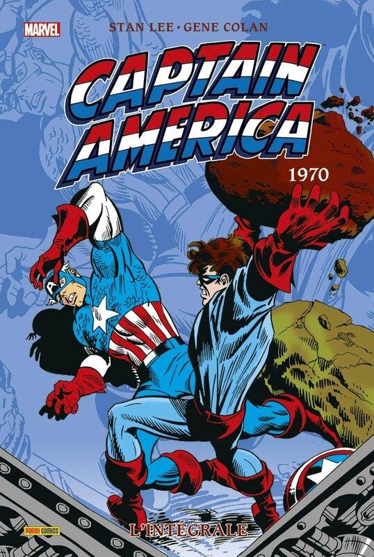 intégrale captain america 1970