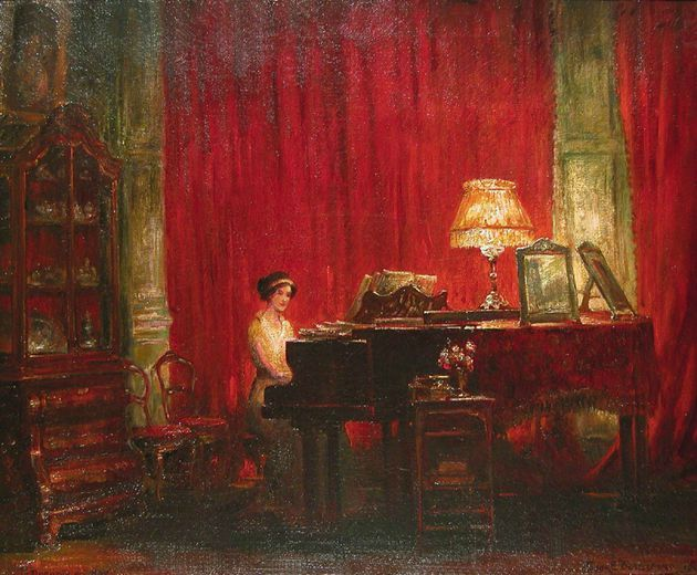 Frank Beresford, The Rose Room