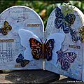 A little walk among flowers and butterflies.. arches and cards for crafty individuals