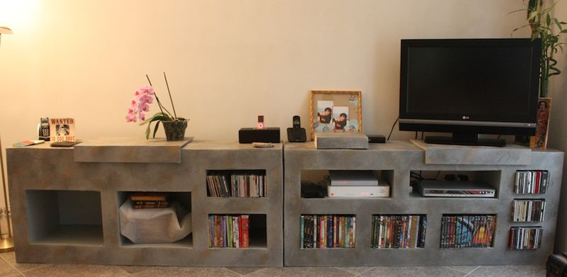 meuble tv suite et fin mon jardin cr atif. Black Bedroom Furniture Sets. Home Design Ideas
