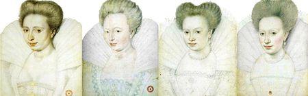 Dames françaises des années 1580