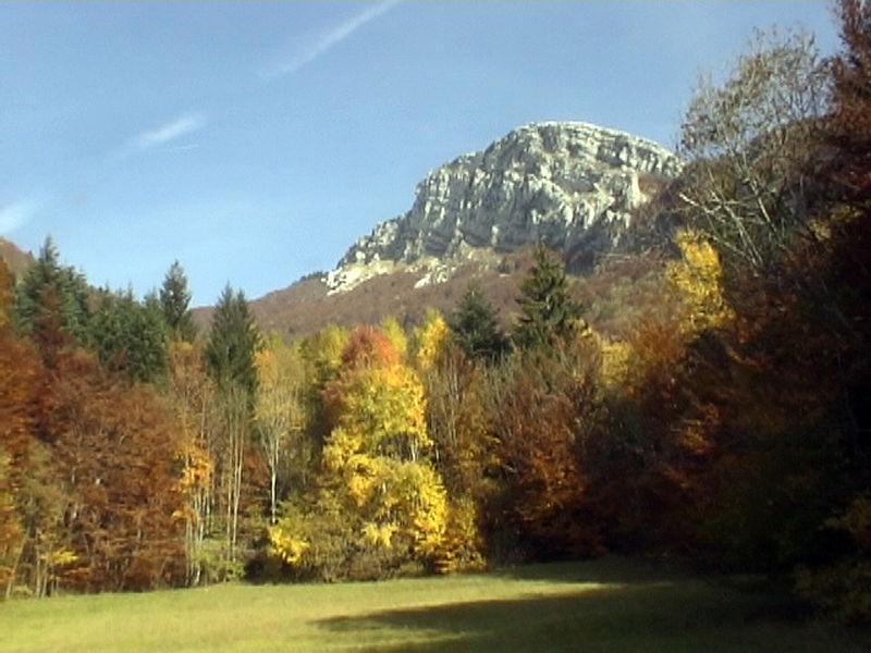 La Meulière des Dauphins – Mont Saint Martin – Chartreuse.
