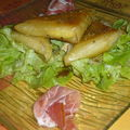 Triangle curry de légumes