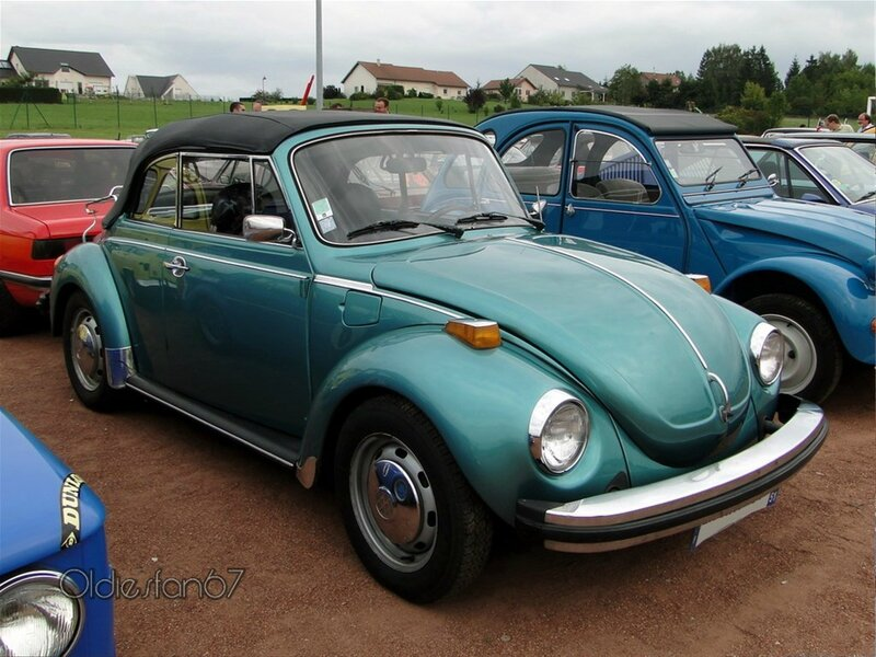volkswagen super beetle convertible version usa 1974 1980 a