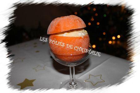 Oranges givrées au chocolat blanc 4