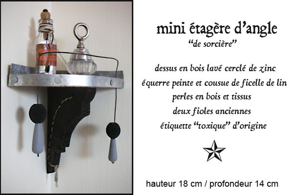 mini tag re d 39 angle la petite tag re tant un jour un objet la boutique. Black Bedroom Furniture Sets. Home Design Ideas