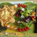 Feuilleté aux 2 poissons et légumes