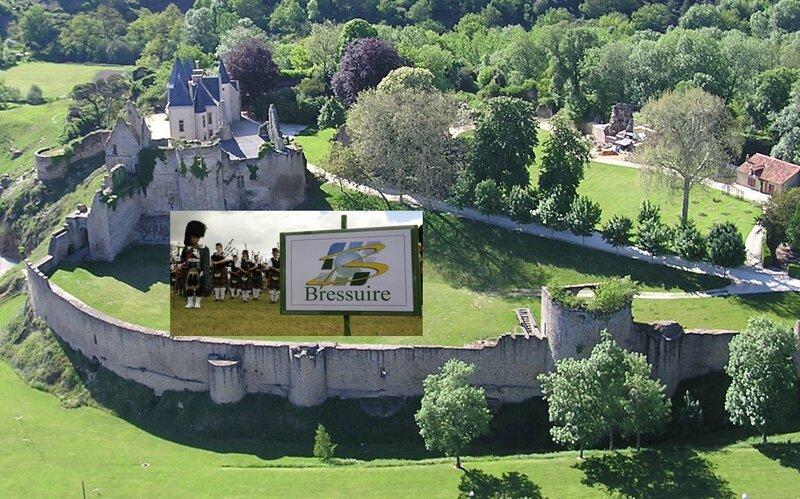 chateau hélico presto + panneau bressuire et pipers