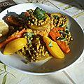 Jelbana ( petits pois ) au poulet cœurs d'artichauts et citron !