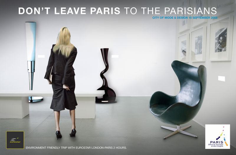 Campagne europ enne office du tourisme paris artdirectorz - Office du tourisme canadien a paris ...