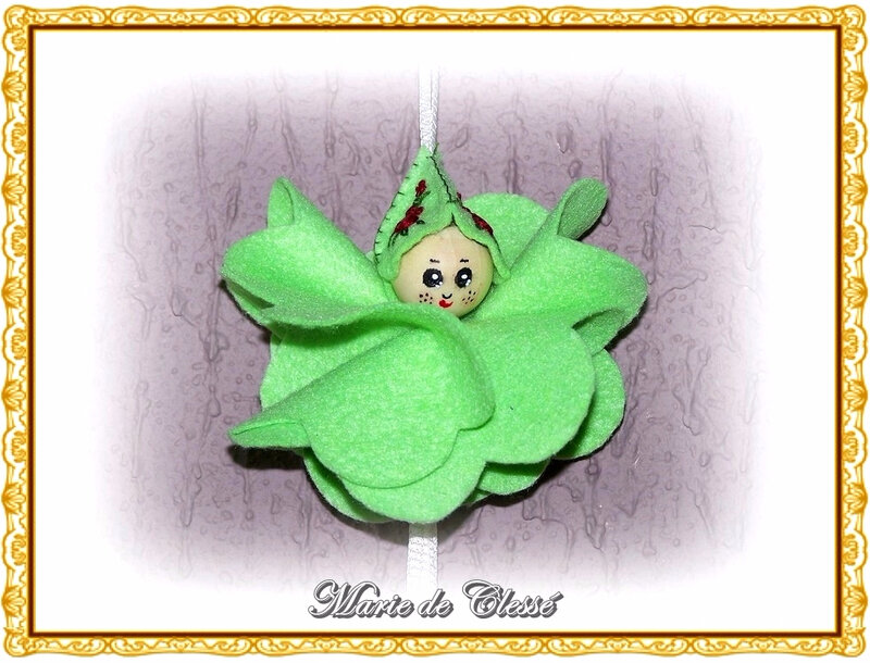Petit Lutin (Feutrine) Fleur Carillon 2