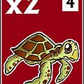 jeton tortue x2