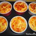 Clafoutis jambon -cantal