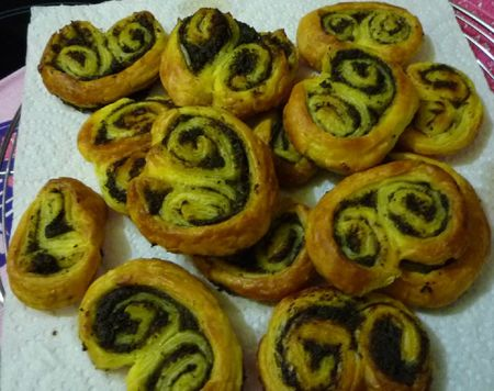 Palmiers tapenadeolives noirsanchois