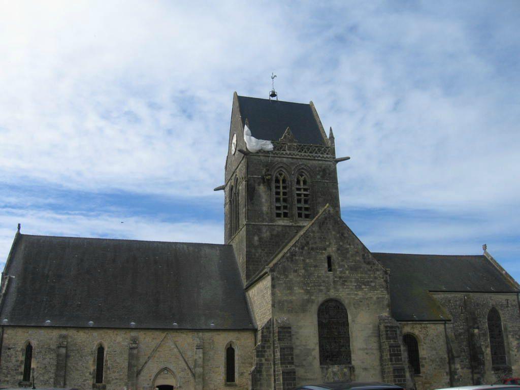 Sainte-Mère-Eglise en Normandie