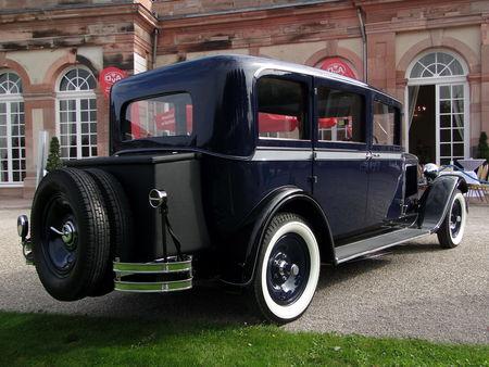 SKODA 645 Limousine 1930 Classic Gala de Schwetzingen 2010 2