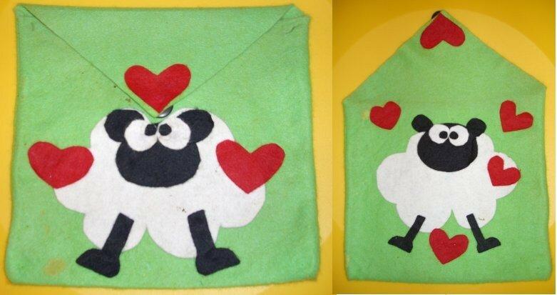 Pochette mouton