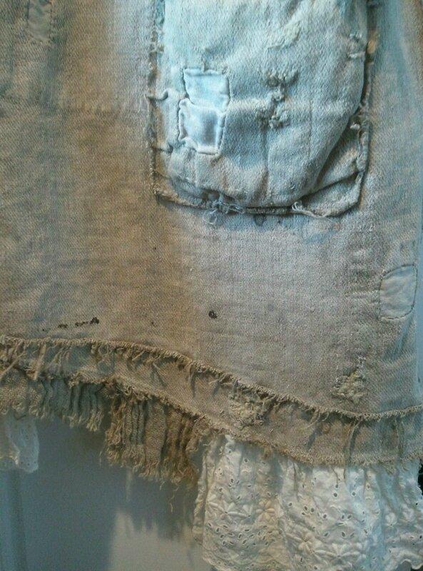 Robe plantation avec dentelle