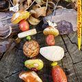 Collier trésors d'automne