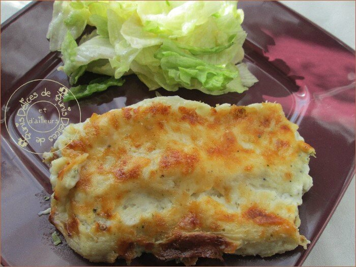 cannellonis brocolis - saumon fumé - ricotta 2