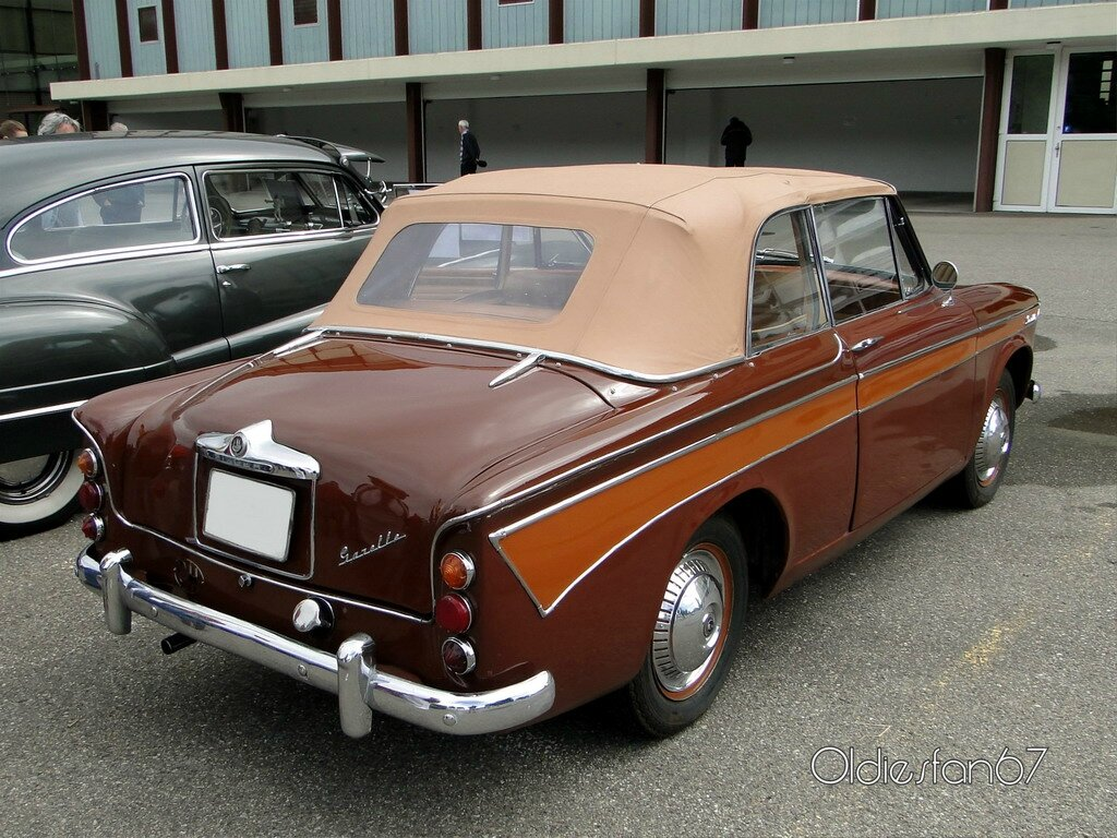 singer gazelle cabriolet 1960 b
