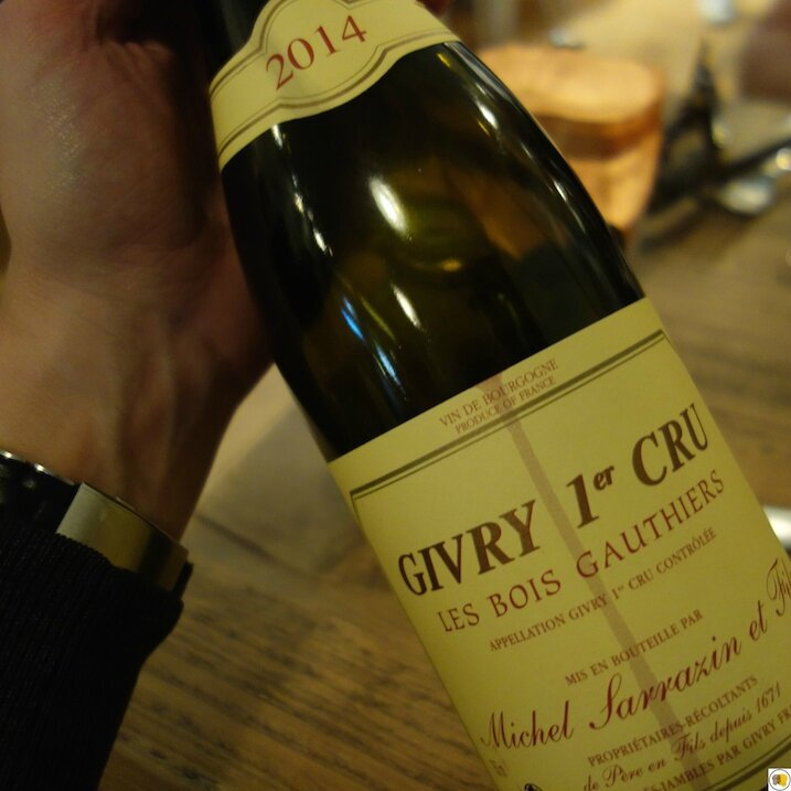 Givry 1er cru Les Bois Gauthiers 2014