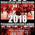 1968 - 2018 : prolongement d'une lutte à achever !
