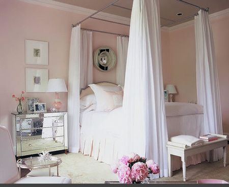 Awesome Chambre Beige Et Rose Contemporary - Design Trends 2017 ...
