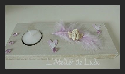 decoration de table mariage ange