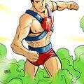 L'histoire des super heros -amazing man