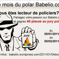 Babelio lance le mois du polar