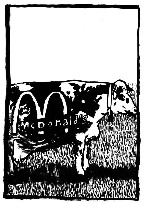 vache mc donald