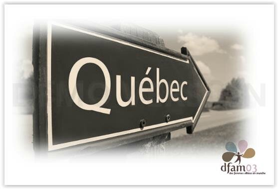 Programme définitif, encore quelques conseils et réponses à vos questions avant votre séjour au Québec (décalage horaire 6 h 00)
