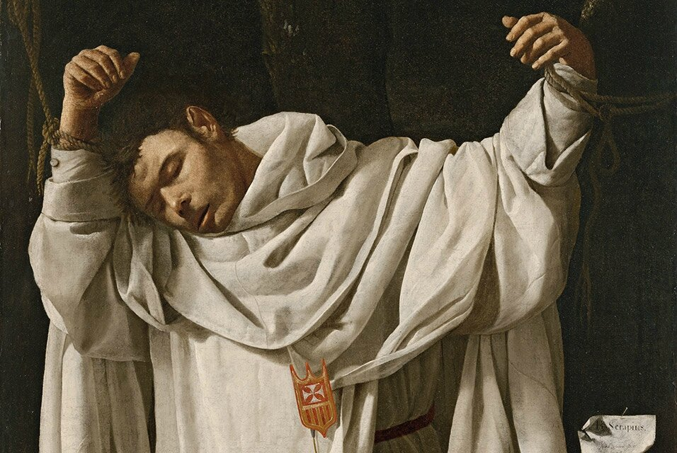"Zurbarán's ""Saint Serapion"" returns to galleries at Wadsworth Atheneum"