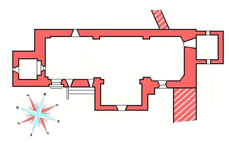 La Couvertoirade plan 1a