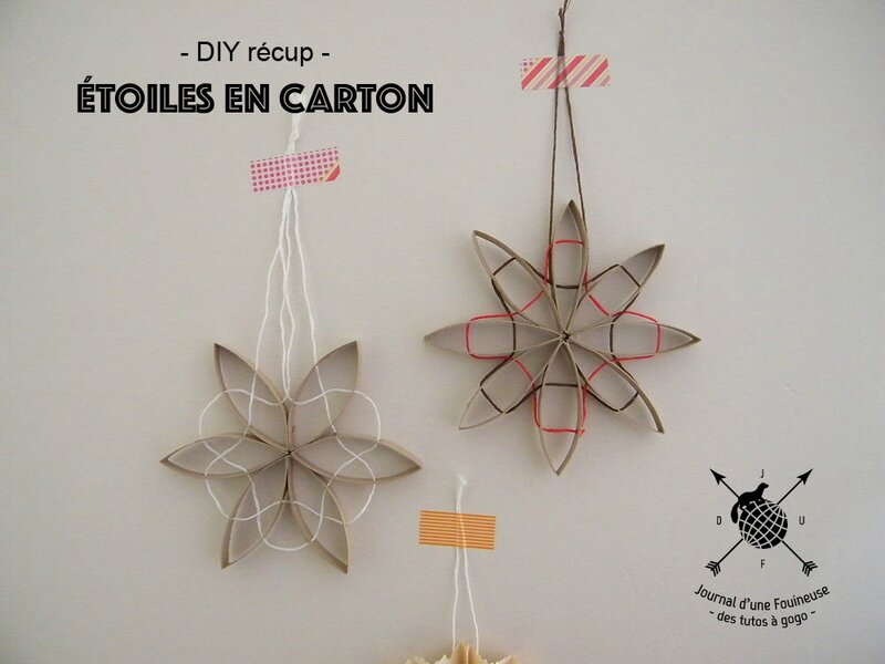 diy r cup les toiles en carton journal d 39 une fouineuse. Black Bedroom Furniture Sets. Home Design Ideas