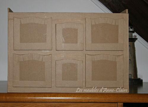petit meuble tiroirs en carton les meubles en carton d 39 anne claire toutcarton. Black Bedroom Furniture Sets. Home Design Ideas